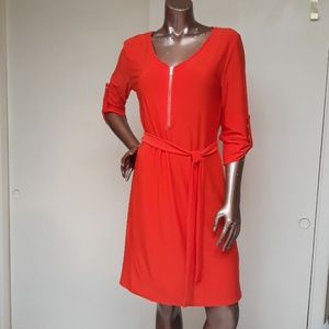 """Just in time for Fall"" Haani Slip & Go Dress"